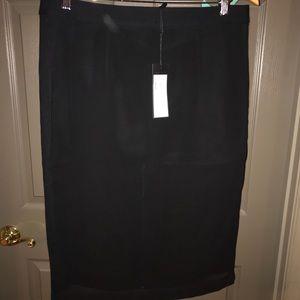 BCBG Francesca Black Skirt